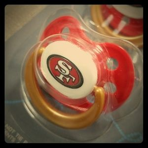 NFL - 49rs Orthodontic Pacifiers - BPA FREE